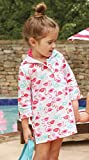 MUD PIE TODDLER GIRLS FLAMINGO COVER UP (4T/5T, MULTI)