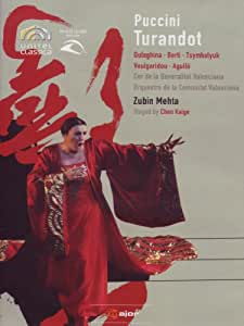 PUCCINI: Turandot (staged by Chen Kaige) - Zubin Mehta [Alemania] [DVD]