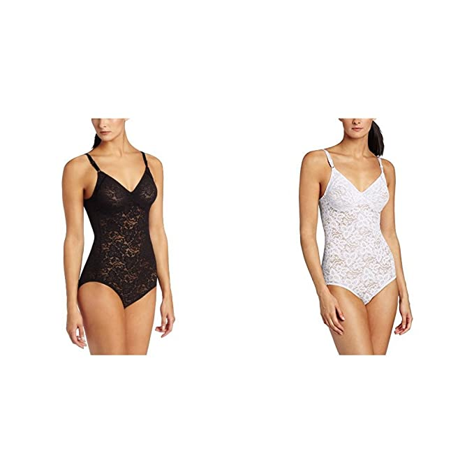 f2566a798 Image Unavailable. Image not available for. Color  Bali Women s Shapewear  Lace  N Smooth Body Briefer ...