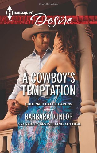 book cover of A Cowboy\'s Temptation