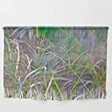 Society6 Wall Hanging, Size Small 23 1/4'' x 15 3/4'', Dance of Grasses by crismanart