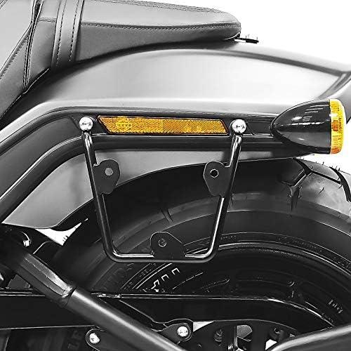 Satteltaschenhalter Kompatibel Für Harley Davidson Fat Bob 114 18 21 Abstandshalter Re Li Auto