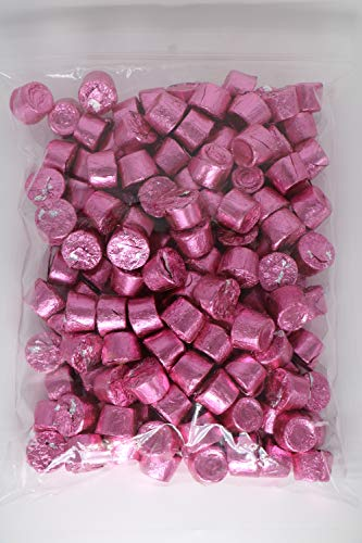 ROLO Candy Chewy Caramels in Milk Chocolate | Pink Foil Candy - 2 lb ()