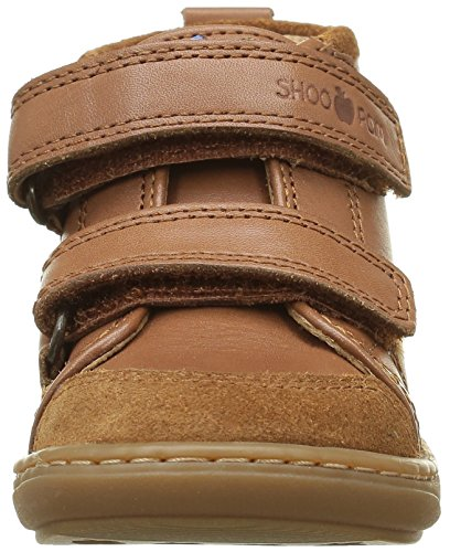 Shoo Pom Bouba Bi V - Zapatos de primeros pasos Bebé-Niñas Marrón - Marron (Lipiz Caramel)