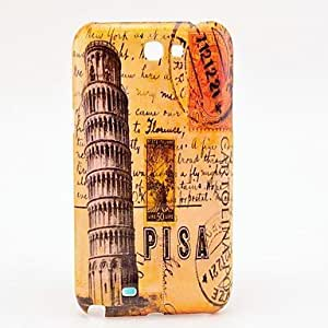 Buy Famouse Leaning Tower of Pisa Design Hard Case for Samsung Galaxy Note2 N7100