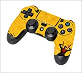 DreamController Top Rated Best PS4 Controller - Comes with COOL Custom Design & Extreme Features like rapid fire, auto spot, jump spot, drop and auto Burst & Much More. (Yellow Ninja)