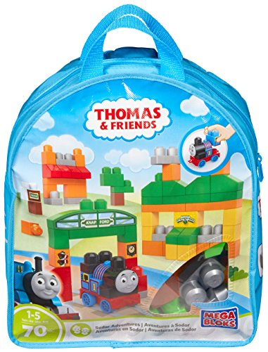 Mega Bloks Thomas & Friends Thomas Sodor Adventures Building (Adventure Bag)