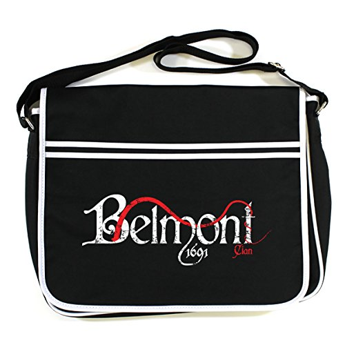 Messenger Belmont Clan Bag Black Castlevania Retro 8zxqBwOa