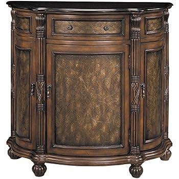 Amazon Com Stein World Furniture Wellington Demilune