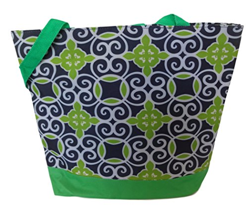 Fashion Print Zippered Interior Pocket