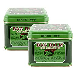 Bag Balm - 4 Ounce Tins - 2 Pack