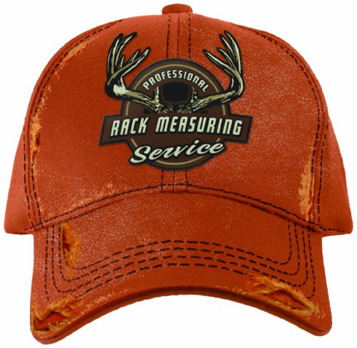 UPC 703498904217, Buck Wear Rack Measuring Hat, Orange, One Size