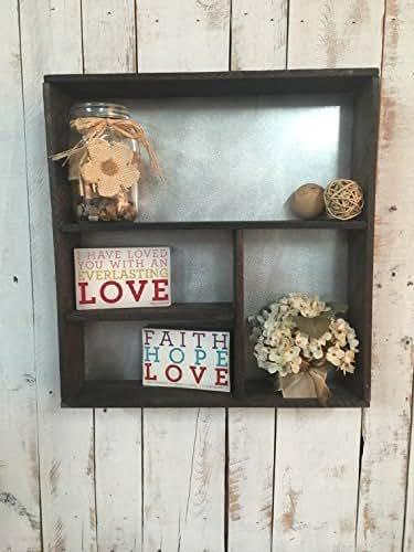 Rustic Shelf Wooden Shelf Rustic Home D Cor