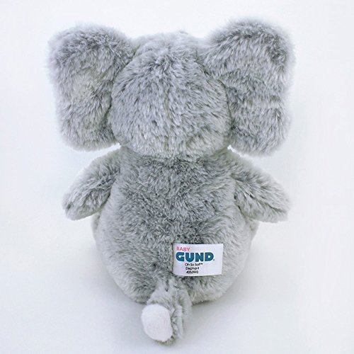 Gund Baby Oh So Soft Elephant & Rattle Combo by GUND (Image #3)