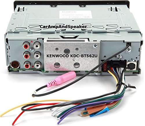 51nM4hxleVL amazon com kenwood kdc bt562u cd single din in dash bluetooth car kenwood kdc bt562u wiring diagram at reclaimingppi.co