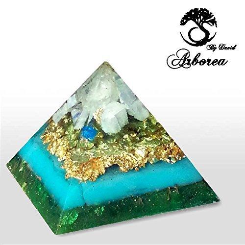 Large Orgone Pyramid, Reiki charged, Inspiration, Heals, meditation, ArboreaCrystals Design Orgonite , 22kt by ArboreaCrystals Orgone