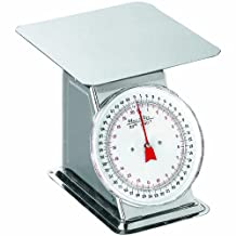 Weston Flat Top Dial Scale, 44-Pound