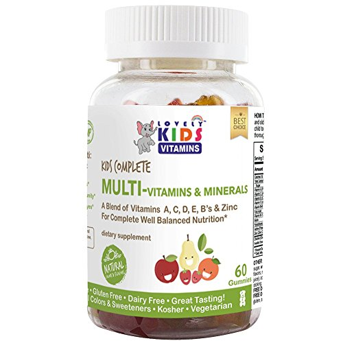 LovelyKids Kids Complete Gummy Vitamins: Multivitamin/Multimineral Supplement, 90 Count