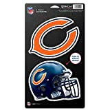 """NFL Chicago Bears WCR18782014 Magnets (2 Pack), 5"""" x 9"""""""