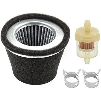 robin fuel filter amazon.com : panari 234-32607-07 air filter + fuel filter ...