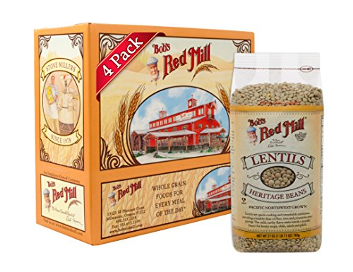 Bob's Red Mill Lentils Beans, 27-ounce (Pack of -