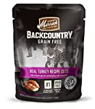 Merrick Backcountry Real Turkey Recipe Cuts Wet Cat Food, 3 oz pouches (24 in a case)