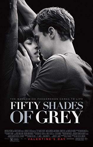 FIFTY SHADES OF GREY MOVIE POSTER 2 Sided ORIGINAL FINAL 27x40 JAMIE DORNAN