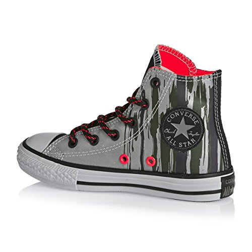 Converse Trainers - Converse Chuck Taylor All Star Shoes - Cadet Grey/Bright Crimson/Mouse free shipping sale shop for sale online cheap price low shipping fee free shipping pay with paypal real sale online 9btf7RV