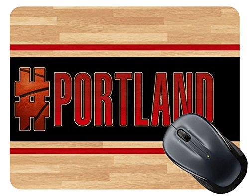 Oregon Logo Square (BleuReign(TM) Basketball Team Hashtag Portland #Portland Square Mouse Pad)