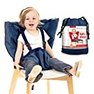 Heaven's Bliss Baby Portable High Chair Safety Harness (Dark Blue)