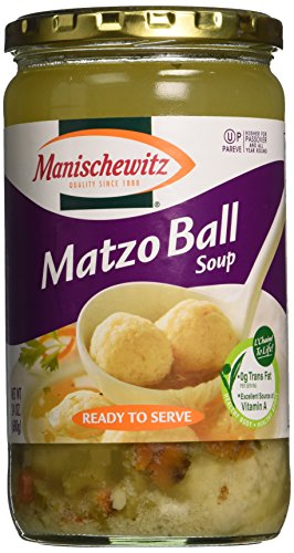 Manischewitz Matzo Ball Soup Jar, 24-Ounce (Pack of 3) by Manischewitz