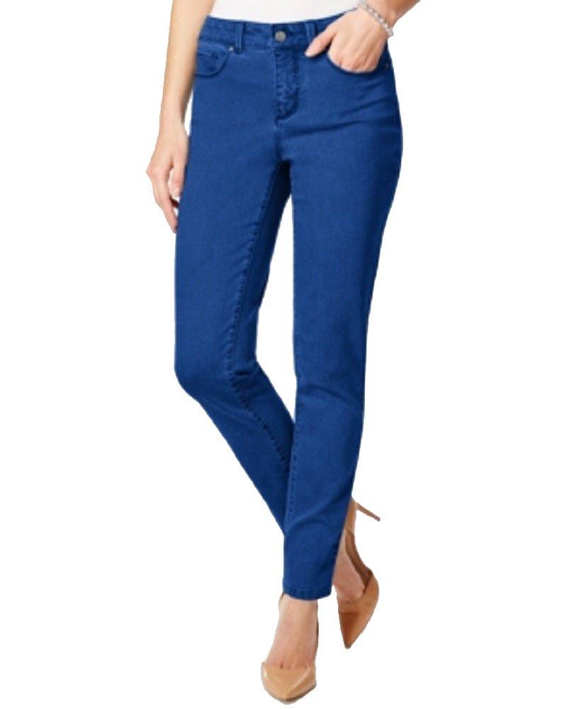 Charter Club Bristol Skinny Ankle Jeans (Sur Blue, 14)