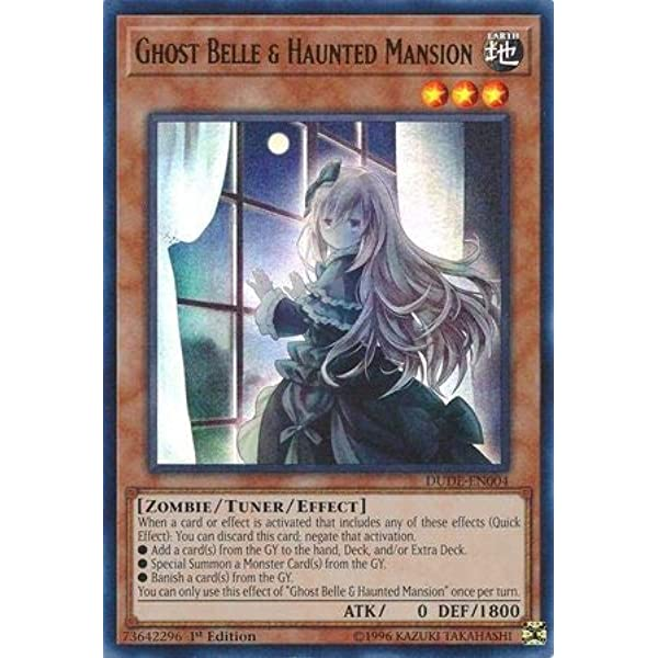 Ghost Belle /& Haunted Mansion DUDE-EN004 1st Edition X3 PLAYSET
