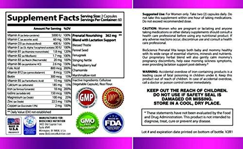 Vita One Prenatal  Lactation Support Multivitamin  Whole -7921