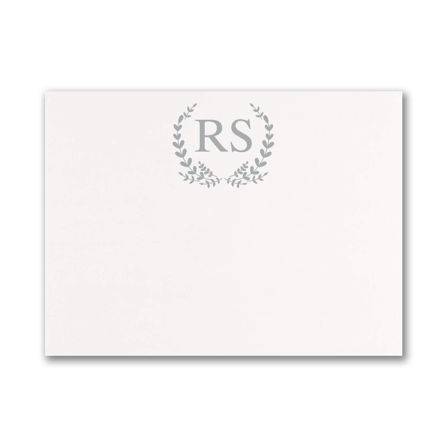 200pk Whimsical Monogram - Note Card-Note Cards