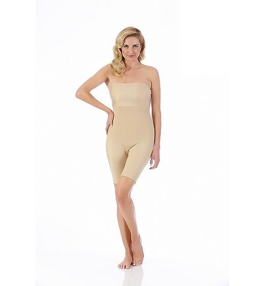 6c66f01da878 InstantFigure Strapless Bandeau Shorts W/Open Gusset at Amazon Women's  Clothing store: