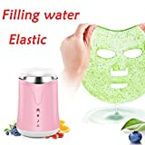 Full Automatic Fruit Vegetable Mask Machine DIY Mask Machine (Pink)