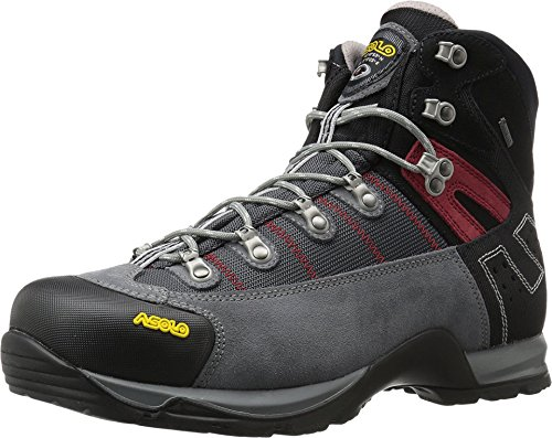 - Asolo Men's Fugitive GTX Hiking Boots (9.5 M US, Grigio/Gunmetal)