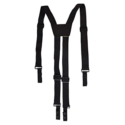 really cheap limpid in sight good quality Nylon Police Suspenders for Duty Belt, Adjustable Tactical Duty Belt  Harness For Duty Belt, 4 Loop Attachment,Black