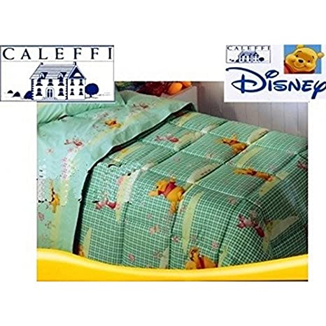 Copriletto Winnie The Pooh Caleffi.Trapunta Caleffi Winnie Pooh Piumino Disney Letto Una Piazza E Mezza
