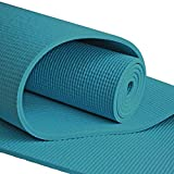 YogaAccessories (TM) Extra Long 1/4'' Deluxe Yoga Mat
