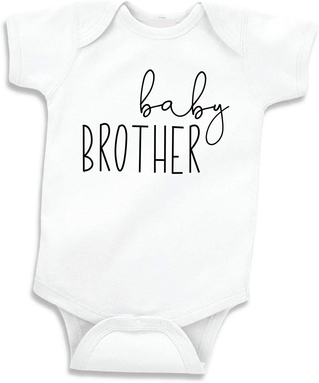 Bump and Beyond Designs Little Brother Shirt for Boys Baby Announcement