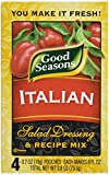 italian salad dressing mix - Good Seasons Italian Refill, 0.7 oz, 4 ct