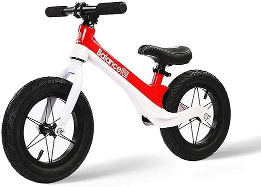 Infantil Brillante Niños Bicicleta de equilibrio Sin pedal ...