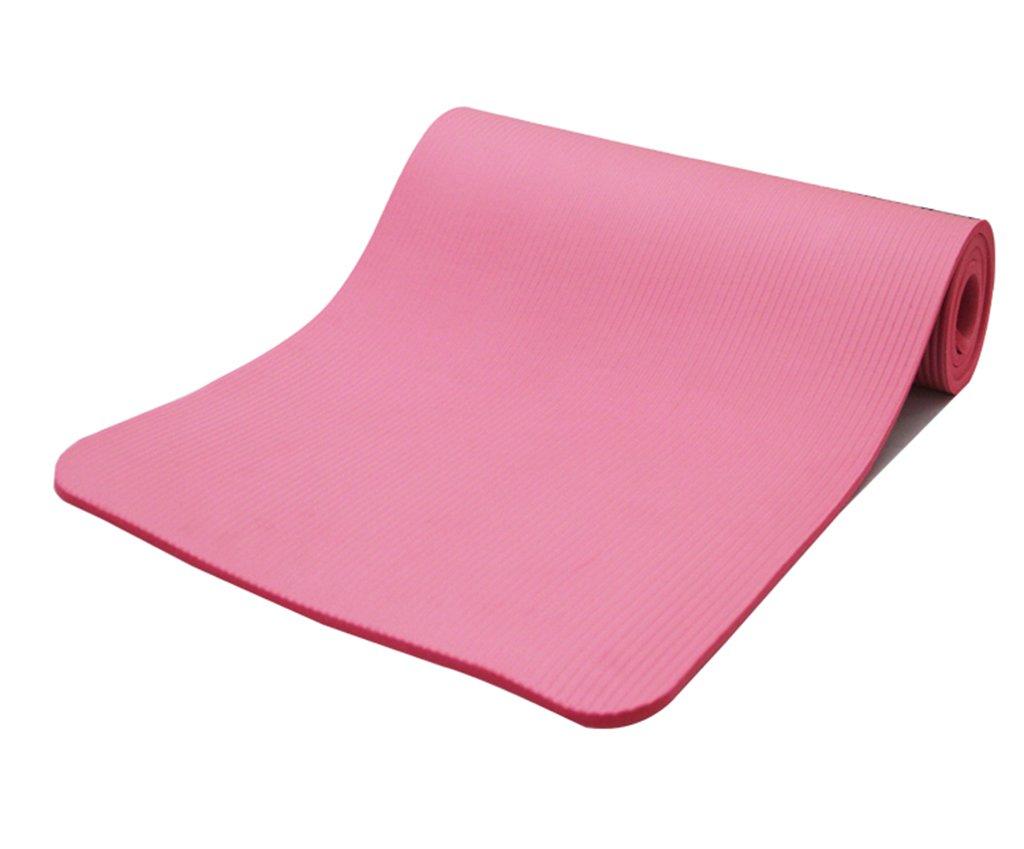 AJZGF Tappetino Yoga Antiscivolo Ecologico, Tappetino Yoga Sportivo ad Alta densità Tappetino da Danza (colore   rosa)