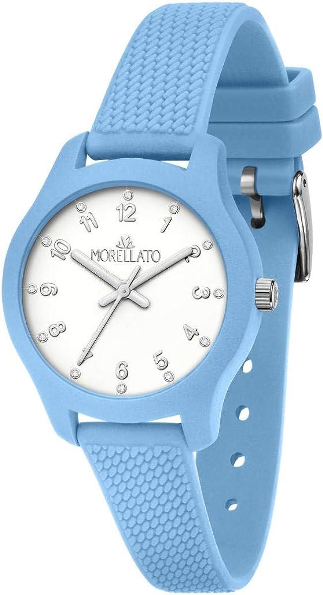 Morellato Reloj para Mujer, Colección Soft, en Poliuretano, Silicona, con Correa de Silicona - R0151163502