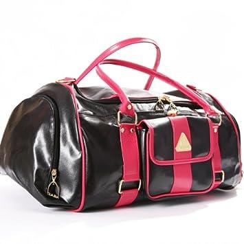 Head - Bolsa de deporte (piel sintética), color rojo y negro ...