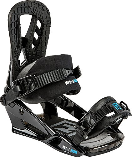 Nitro Snowboards Herren Snowboard-Bindung Pusher BDG 15, Black, M, 1151836304