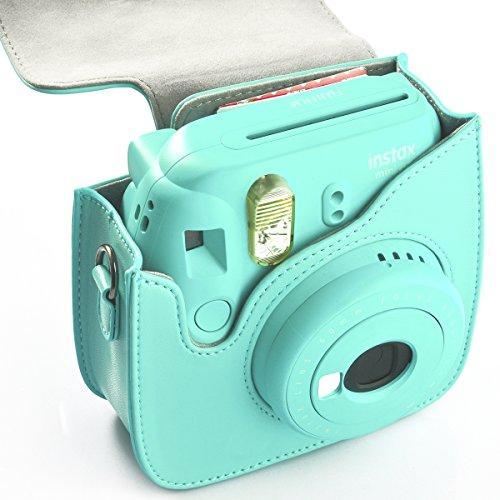 Fujifilm Instax Mini 9 8 Camera Baghellohelio Classic Vintage PU