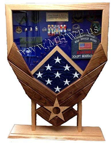 Air Force Logo Shadow Box/Retirement Display by Morgan House Woodprojects (Image #4)